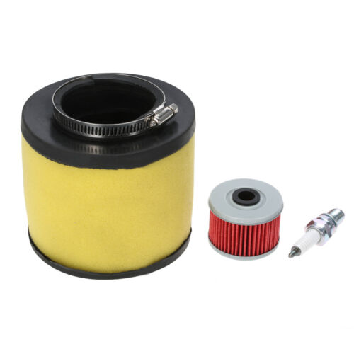 F9Z7 TRX450S /& TRX450ES Air Filter+Oil Filter+Spark Plug For Honda Foreman 450