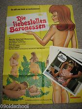 Die liebestollen Baronessen 22 Aushangfotos INGRID STEEGER Love Mad Baroness SEX