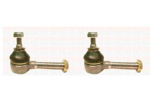 x2 Tie Track Rod End for PEUGEOT PARTNER 1.4//1.9 D TU3JP//XUD9A Front FAI
