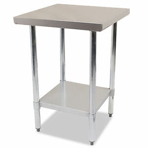 COMMERCIAL-KITCHEN-24-034-X-24-034-STAINLESS-STEEL-PREP-STATION-TABLE-WORKTOP-SURFACE