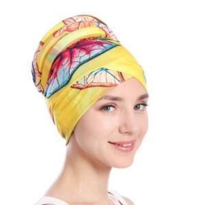 Frauen-muslimischen-Haarausfall-Kopftuch-Turban-Kopf-wickeln-Chemo-Abdeckun-I5E2
