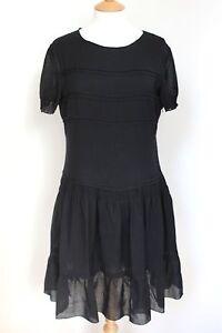 Miu-Miu-Black-pleated-frill-dress-2010-44-uk-12