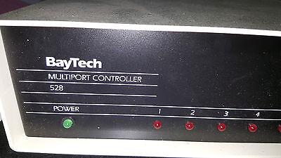 1x BayTech Associates 528 MULTIPORT CONTROLLER new