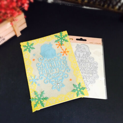 Metal Cutting Dies Stencil Scrapbooking Embossing Card Making Paper Craft Die