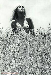1960s Original Female Nude Hippie Girl Outdoors KARL DE