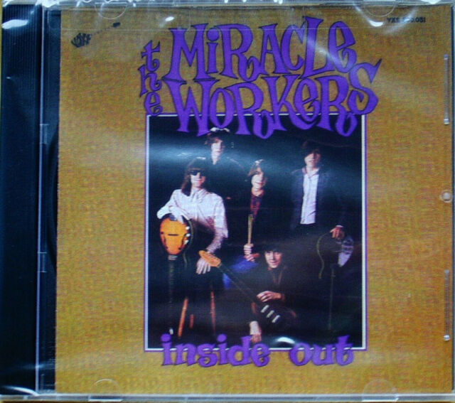 Miracle Workers - Inside Out (CD) Mid-80s Garage Punk (Brand New & Sealed)