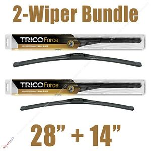 Trico 25-280 Force Premium Performance Beam Wiper Blade 28