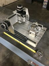 4-Axis CNC Engraver And Milling Machine Frame With Steppers DIY Mach 3