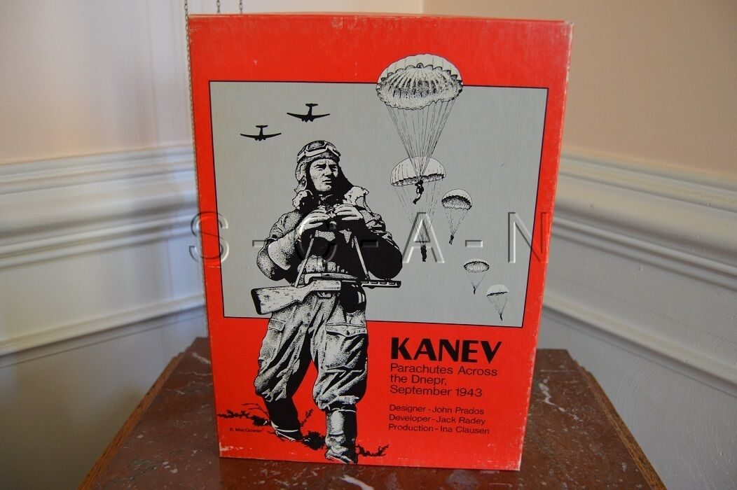 Kanev- Parachutes Across the Dnepr, September 1943- People's War Games- Unpunch