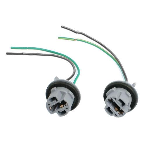 V13747 2 Pcs T20 7443 LED Bulb Brake Signal Light Socket gray