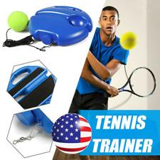 BAUBEY Tennis Trainer Tennis Trainer Rebounder Ball Self-Study Tennis Rebound Power Base Tennis Trainer Tool Tennis Training Equipment Perfect Solo Tennis Trainers for Outdoor Indoor Training