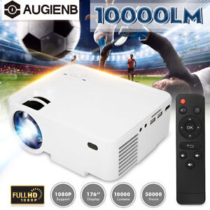 AUGIENB-10000-Lumens-Projector-1080P-3D-Multimedia-HDMI-USB-Home-Cinema-Theater