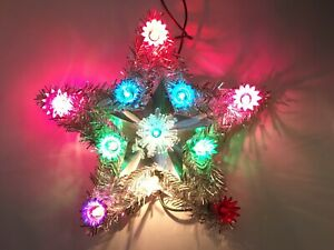Vintage Sears Lighted Christmas Tree