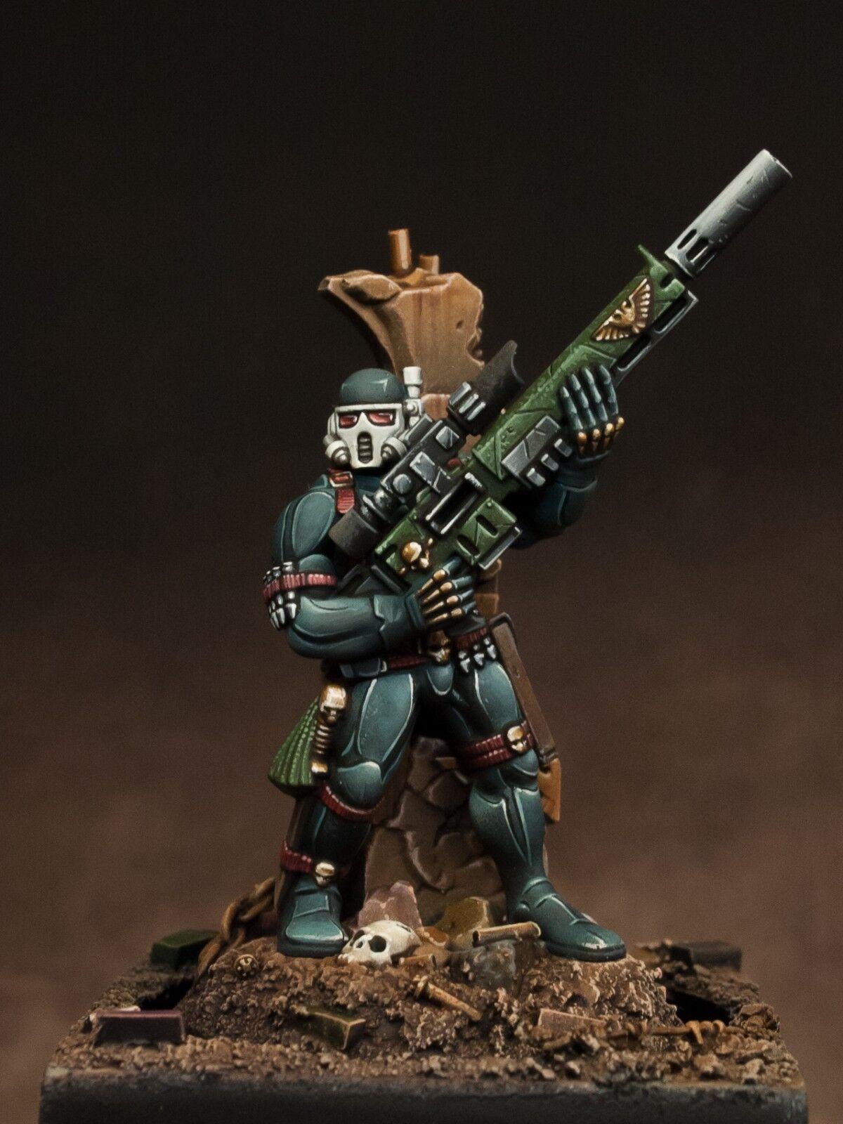 Asesino vindicare Ordo assassinorum pintura warhammer 40k GW Games Workshop 28mm