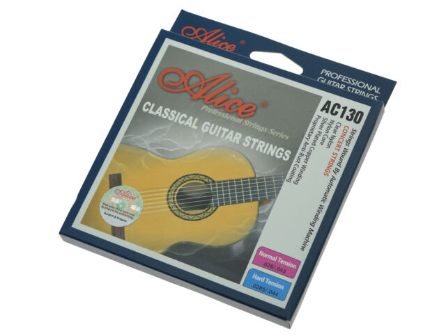 Quality Clear Nylon Classical Guitar Strings Normal Tension Copper Wound