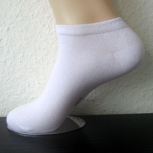 4 Pair Men/'s Sneaker Socks By Travel Cotton with Spandex White or Black