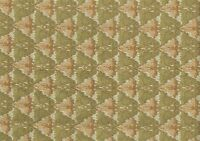 Designer Fabric Gold With Green Hues Salmon Upholstery Weight
