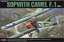 Academy 1/32 Plastic Model Kit SOPWITH CAMEL F.1 #12109