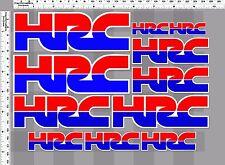 1set HRC honda wing racing team big bike decal sticker print full die-cut vinyl
