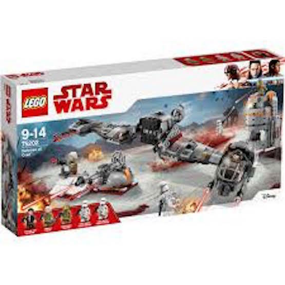 BRe nuovo FACTORY SEALED LEGO  75202 estrella guerras DEFENCE  OF CRAIT  719 PIECES  molte concessioni