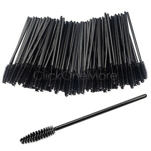 Disposable eyelash brush mascara wand makeup lash for Mascara with comb wand
