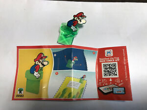 Super-Mario-Kinder-Joy-DV563-Selten-mit-BPZ