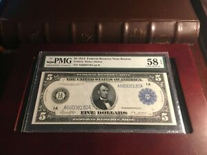 1914-5-Federal-Reserve-Note-Fr-847a-PMG-58