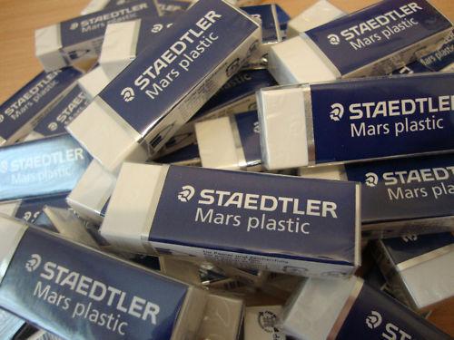 20 x Staedtler Mars Plastic Rubber Eraser
