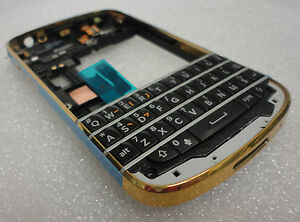Details about BlackBerry Q10 Gold & Black OEM Housing