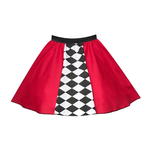 """Girls Shut Up And Drive RACE CAR Dance Costume FancyDress Party Skirt 12/"""" length"""