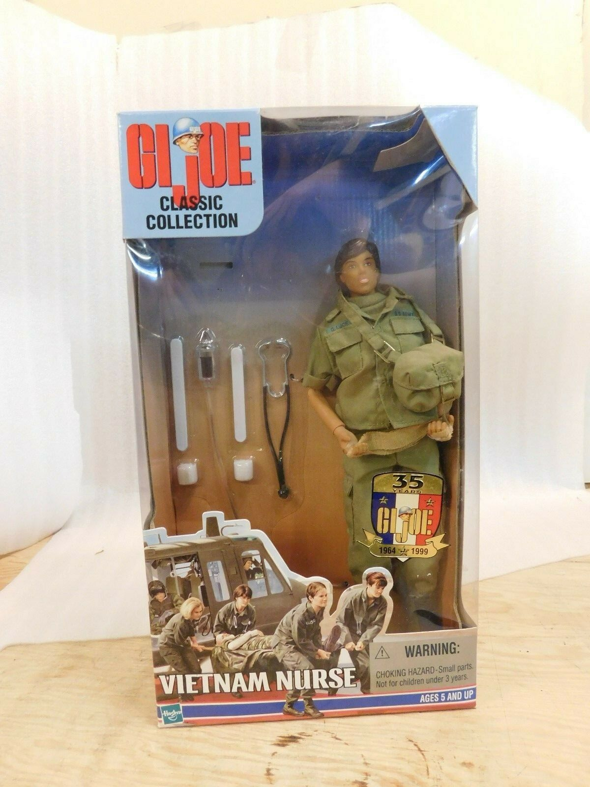 G.I. JOE CLASSIC COLLECTION 35th ANNIVERSARY VIETNAM NURSE 12  ACTION FIGURE
