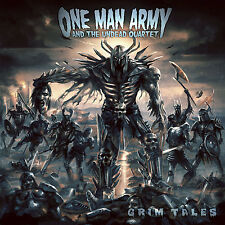 ONE MAN ARMY AND THE UNDEAD QUARTET - Grim Tales - Digipak-CD+DVD - 205611