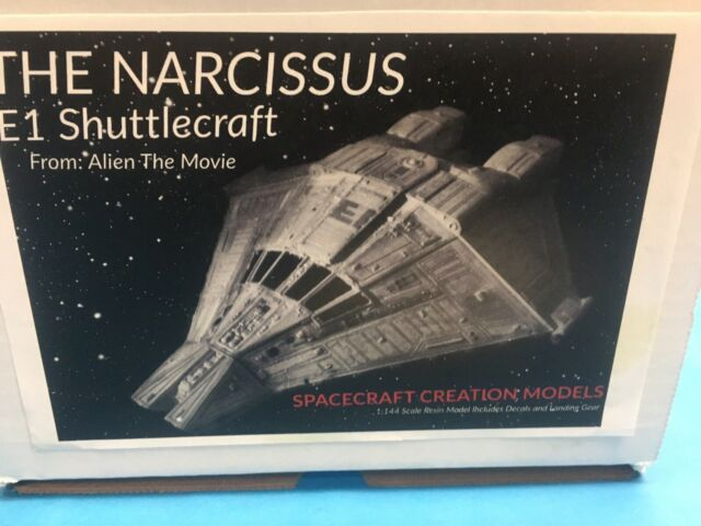 Movie Classics Alien Narcissus E1 Shuttlecraft  Resin Model Kit