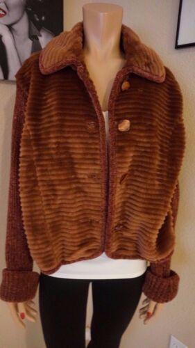 70's Og Vintage Koldt Frakke Amazing Kvinde Varmt Udseende Vilxi International Så Xl Sz wvBqUC