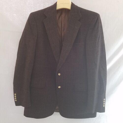 Vintage Austin Reed Dillard S Tweed Suede Patches Spo Gem