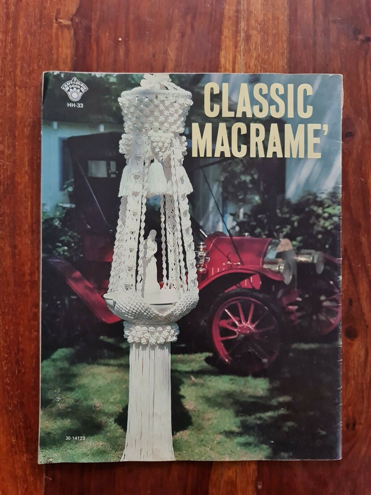 Vintage Magazine CLASSIC MACRAME 1978 Craft Course Publishers
