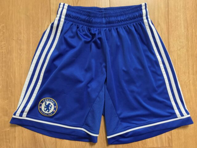 Contrato Contra la voluntad Rosa  Chelsea adidas Climacool Mens Genuine Blue Home Football Shorts 2013-14  Z27639 Large 38