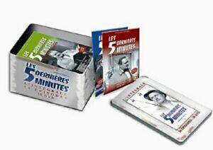 DVD-LES-5-DERNIERES-MINUTES-Coffret-Metal-L-039-Integrale-Raymond-Souplex-NEUF