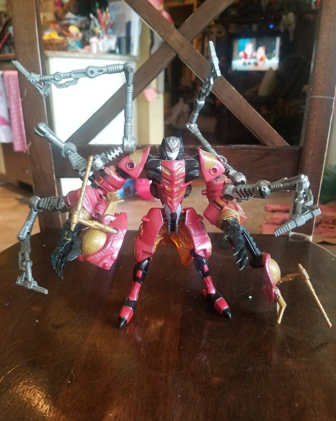Custom Transformers: Custom Painted Deluxe Class ARACHNID