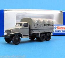 Roco H0 1677 CCKW HENSCHEL 6x6 Kuba Imperial Radio TV truck OVP HO 1:87