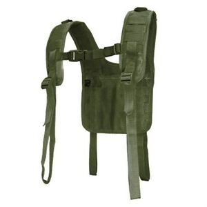 Condor-215-Military-Tactical-H-Harness-Shoulder-Battle-Belt-Suspender-OD-Green