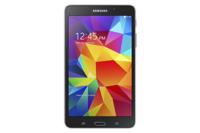 Samsung Galaxy Tab 4 - 16GB, Wi-Fi +4G Sprint, 7inch - Black, B Grade (SM-T237P)