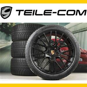 40-NEU-ORIG-Porsche-Cayenne-E3-9Y0-21-034-RS-Spyder-Winterraeder-Satz-Wheels
