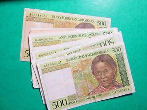 10 Billet Banque De Madagascar - N ° 41-- 80