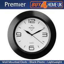 chrome quartz battery powered bathroom wall clocks  ebay, Home decor