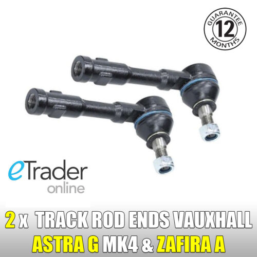 Vauxhall Zafira A 2.0 Di DTi 99-05  LEFT+RIGHT Outer Track Rod Ends Steering