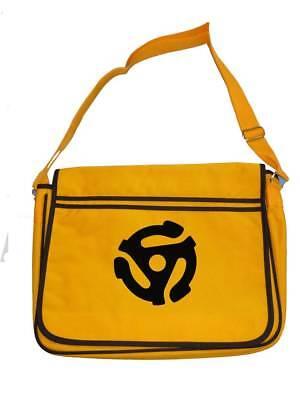 Japanese Retro Style Canvas LP DJ Laptop Vinyl Records Messenger Shoulder Bag