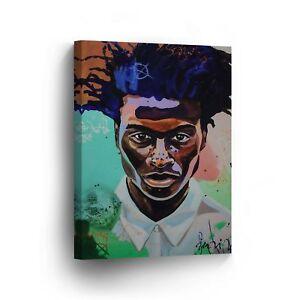 Modern African Man Cool Hair Colorful Modern Canvas Print Wall Art Home Decor Ebay