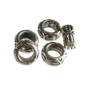 25 Perles intercalaire spacer /_ FLEUR 6x6x1.5mm /_ Apprêts métal créa bijoux A008