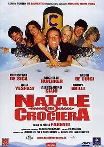 Dvd-NATALE-IN-CROCIERA-2007-Christian-De-Sica-NUOVO
